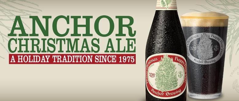 Anchor Steam Christmas Ale.Anchor Brewing Release Their 2018 Christmas Ale Puerto